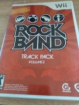 Nintendo Wii RockBand Track Pack Volume 2 image 1