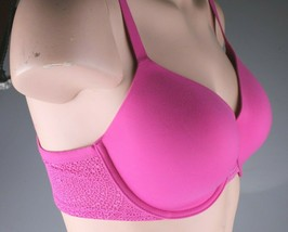 Calvin Klein Fucsia F3916-679 Perfectly Fit Modern T-Shirt Underwire Bra 34D NWT image 2