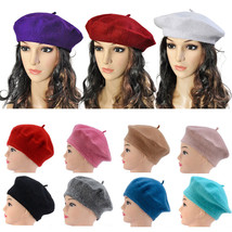 Lady Classic Warm Knitted Crochet Soft Hat Women Slouch Beret Beanie Cap... - ₨1,662.79 INR