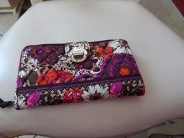Vera Bradley turnlock wallet in Rosewood - $25.50