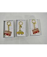 NIB! Michael Kors Charm / HandBag Accessory / Hangtag Red Bus OR Yellow ... - $39.00