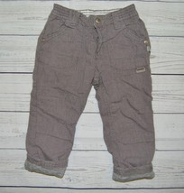 Infant Boys Sz 18m 86 KANZ My 1st Baby Pants Heather Gray Lined Elastic ... - $9.99