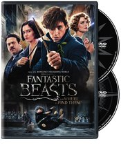 Fantastic Beasts and Where to Find Them (2017, DVD)