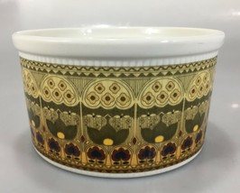 """Royal Doulton Parquet Oven China Souffle Dish Casserole 4 Cup 6 x 3.5"""" England - $33.81"""