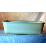 "Anchor Hocking Fire King 1957 Ivory 1 Quart 9 3/4"" Loaf Pan - $8.18"