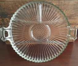 Indiana Glass Company Clear Divided Relish Plat... - $18.75