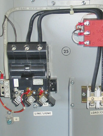 FPE 70 AMP GFCI SPA PANEL LOADCENTER (CLASS A/NEMA 3R/1PH/240V) ~ RARE/MINT!