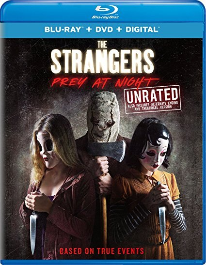 The Strangers: Prey at Night [Blu-ray + DVD + Digital]