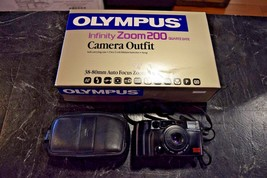 Olympus Infinity Zoom 200 Quartz Date Camera Outfit - $9.99
