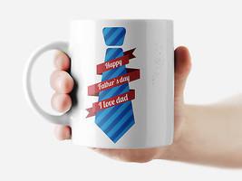 Happy Father's Day Mug Funny Rude Quote Coffee Mug Cup Q179 - $12.20+