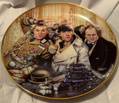 1993 Franklin Mint The Three Stooges Limited Edition Collectors Plate - $14.99