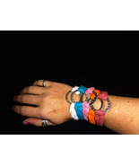 Braided Friendship Ring Bracelet made from Recy... - $6.00