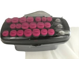 Conair Xtreme Instant Heat Multi-Size Pink Hot Rollers with Heated Clips - $27.12