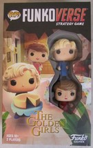 Funkoverse Pop! THE GOLDEN GIRLS Strategy Game #100 Expandalone 2-Pack NIB - $24.74