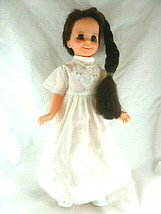 "Ideal Tressy Crissy Family Doll 1970 Vintage 16"" Dark griwing hair blue ... - $39.59"