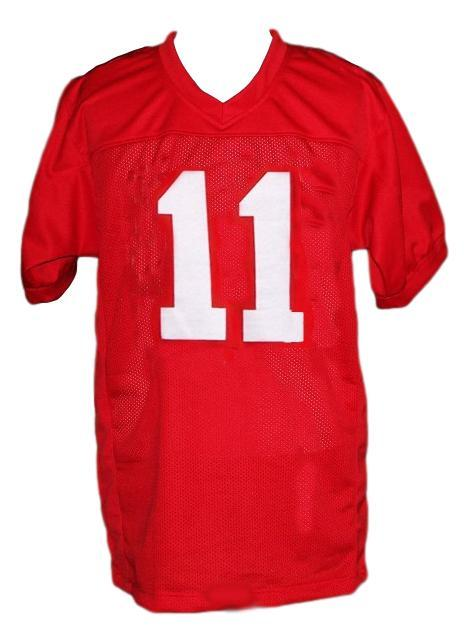 Junior floyd little giants movie football jersey red   1