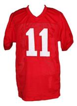 Junior Floyd #11 Little Giants Movie New Men Football Jersey Red Any Size image 1