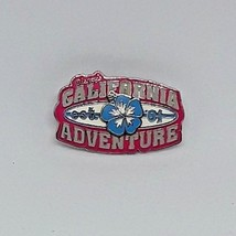 "Disney Pin Trading ""DISNEY'S CALIFORNIA ADVENTURE"" w/3D Hibiscus Flower ... - $7.09"