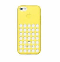 Original Apple Silicone Case for iPhone 5C - Yellow - $124,14 MXN