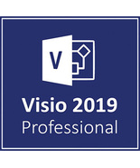 Microsoft Visio 2019 Professional 32/64 Bit Key & Download - $189,89 MXN