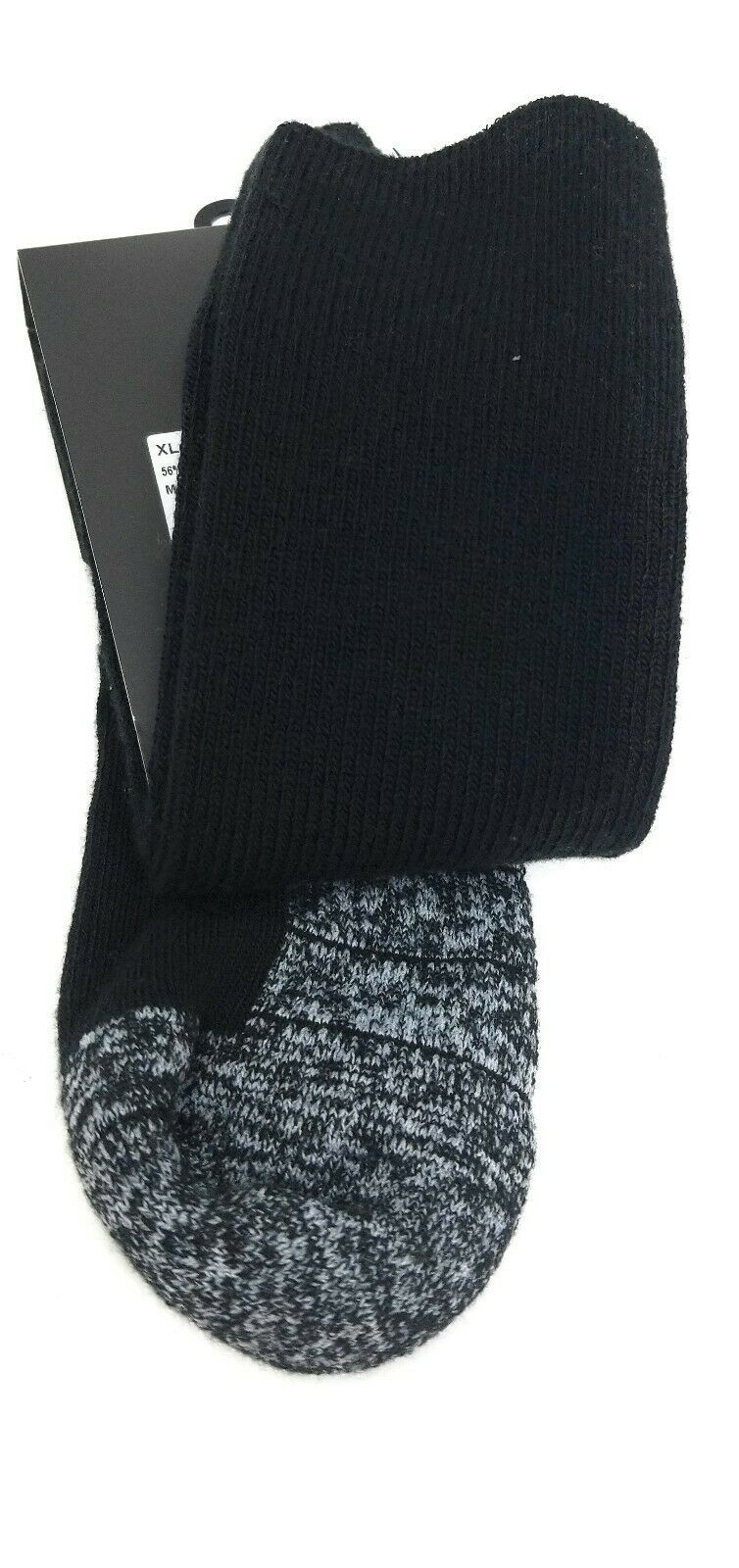 Nike Socks Crew Mens XL 12-15 Black Dri Fit Cushioned Athletic Performance Sport image 4