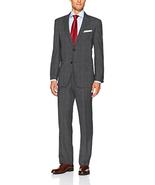 Tommy Hilfiger Men's Wool Stretch Fancy Performance Suit, Grey Windowpan... - $99.99