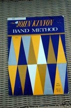 Drum - The John Kinyon Band Method Book 1 - $3.99