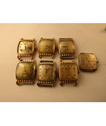 Bulova Director 10bt 10bc  1950'S 15 jewel watches for restoration OR pa... - $376.36