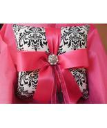 Damask Ringbearer Pillow Madison Fuchsia Ring Pillow  - $24.95