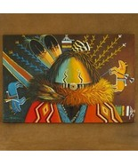 Yei Sandpainter Navajo Painting Limited Edition... - $222.07
