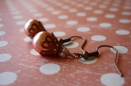 PRETTY IN PINK EARRING'S