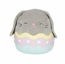 "Squishmallow Kellytoy Blake the Gray Bunny Easter 5"" Mini Plush Doll Toy... - $13.16"
