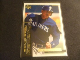 2000 Upper Deck Gold Reserve Solid Gold Gallery Alex Rodriguez Seattle M... - $3.12