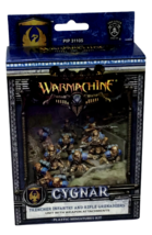 Warmachine Cygnar Trencher Infantry Rifle Grenadiers Weapons Miniatures NEW - $49.49