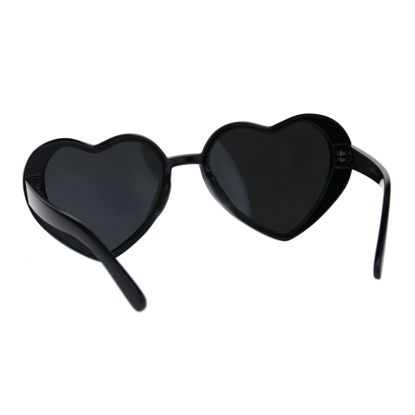 Oversized Heart Shape Sunglasses Womens Fashion Mirrored Lens Shades image 7