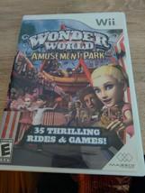 Nintendo Wii Wonder World Amusement Park ~ COMPLETE image 1