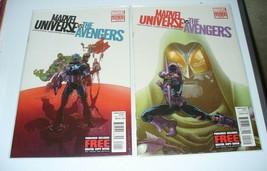 Marvel Universe Vs. The Avengers (2012 Series) #1 & 2 Comics Book Bagged - $5.39