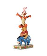 Non Metal Disney Traditions Pooh, Eeyore,Tigger And Piglet Figurine (Len... - $66.91