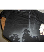 Basement Lightning T-Shirt Black Size Small - $16.99