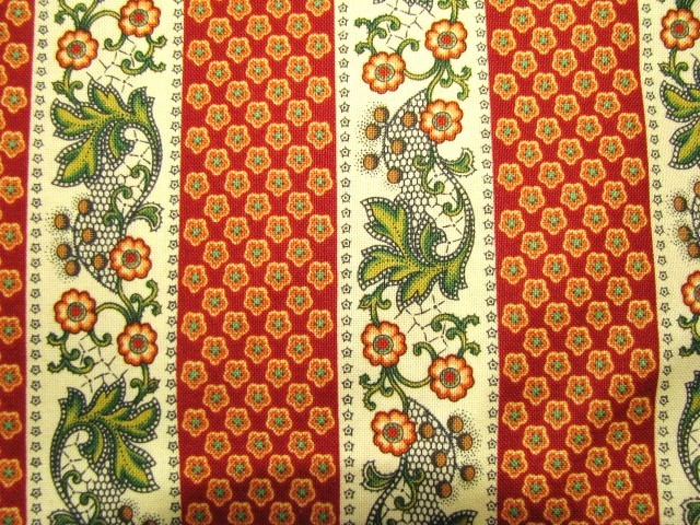 Marie Osmond Parisian Paisly for Quilting Treasures  Cotton Fabric