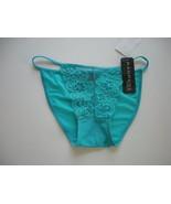 Rampage Aqua Lace/Mesh String Bikini Size Small - $3.99