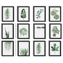 Green Plants Cheap Canvas Art Print Poster Leaf Painting Wall Home Decor... - $8.42