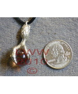 Dragon Claw Talon Peach Orb Necklace Pendant NEW - $7.85