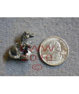TINY Pewter Dragon in Egg Hatchling Figure Figurine NEW - $5.85