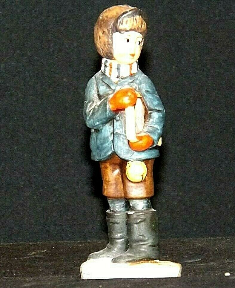 """""""Back to School"""" by Norman Rockwell Figurine AA19-1662 Vintage NR2"""