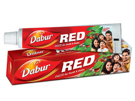 Dabur Red Paste Herbal Toothpaste Dental Cream For Teeth & Gums Protecti... - $4.89