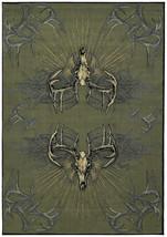 United Weavers Designer Contours Buckwear Legend Killers Smoke Blue Area... - $229.00