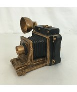 Old Time Photography Camera Coin Bank - $14.85