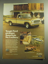 1979 Ford F-150 SuperCab Pickup Truck Advertisement - $14.99