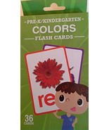 Pre-K/Kindergarten Colors Flash Cards, 36 Cards - $9.95